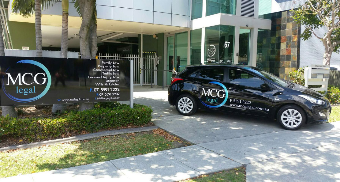 MCG Legal Southport Office Entrance